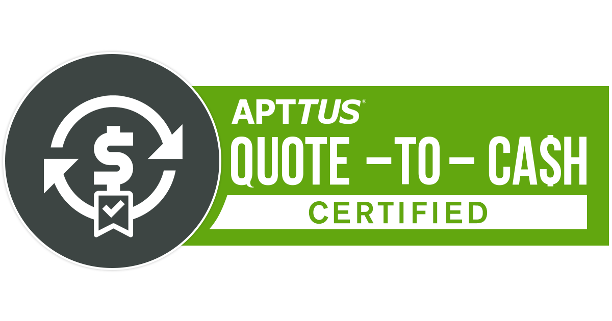 APTTUS Quote-to-Cash Certified